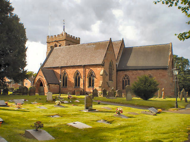 St Mary Magdeline Church, Albrighton